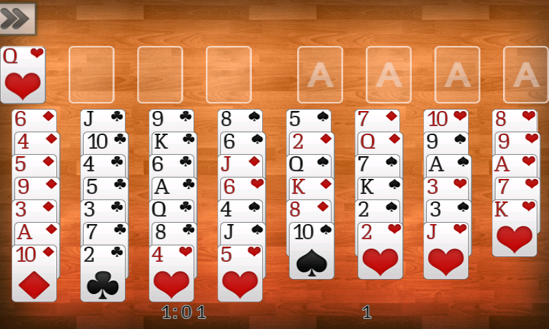 Freecell - screenshot