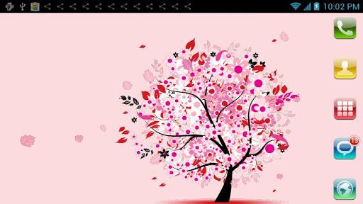玩漫畫App|愛情樹動態壁紙免費|APP試玩
