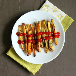 Baked Potato French Fries. vegan glutenfree recipe..