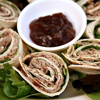 Beef Tortilla Wraps Recipe With Cranberry Chutney For Picnics Or Parties