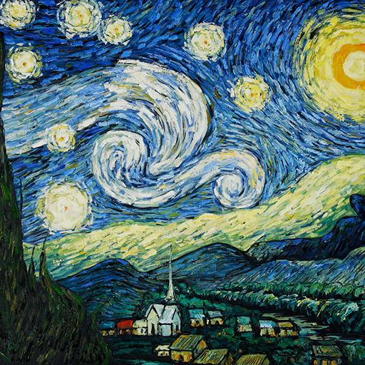 Van Gogh Photo Effect