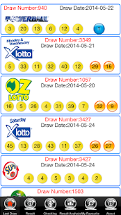 Check OZLotto Pools Free- screenshot thumbnail