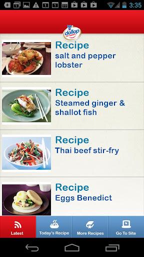 Bulla Dollop of Happy Recipes