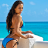 Blue Coast Bikini wallpaper logo