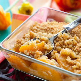 Peach Pineapple Crumble.
