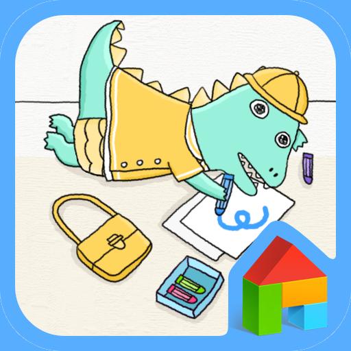 아기공룡용용 크레파스 도돌런처 테마 個人化 App LOGO-APP試玩