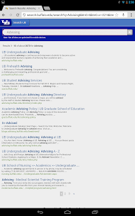 UB Mobile (Univ. at Buffalo)- screenshot thumbnail