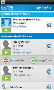BigPond Caller Tones- screenshot thumbnail
