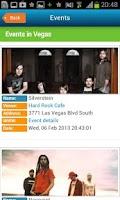 Screenshot of Las Vegas Guide, hotels & map