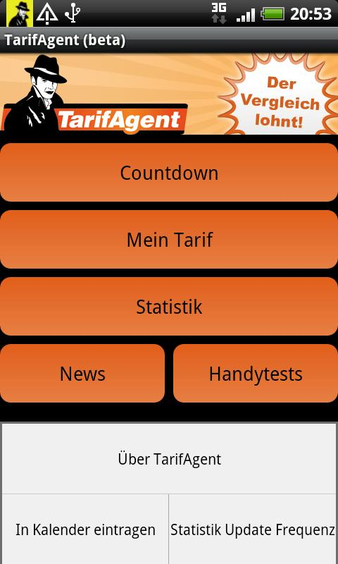 TarifAgent- screenshot