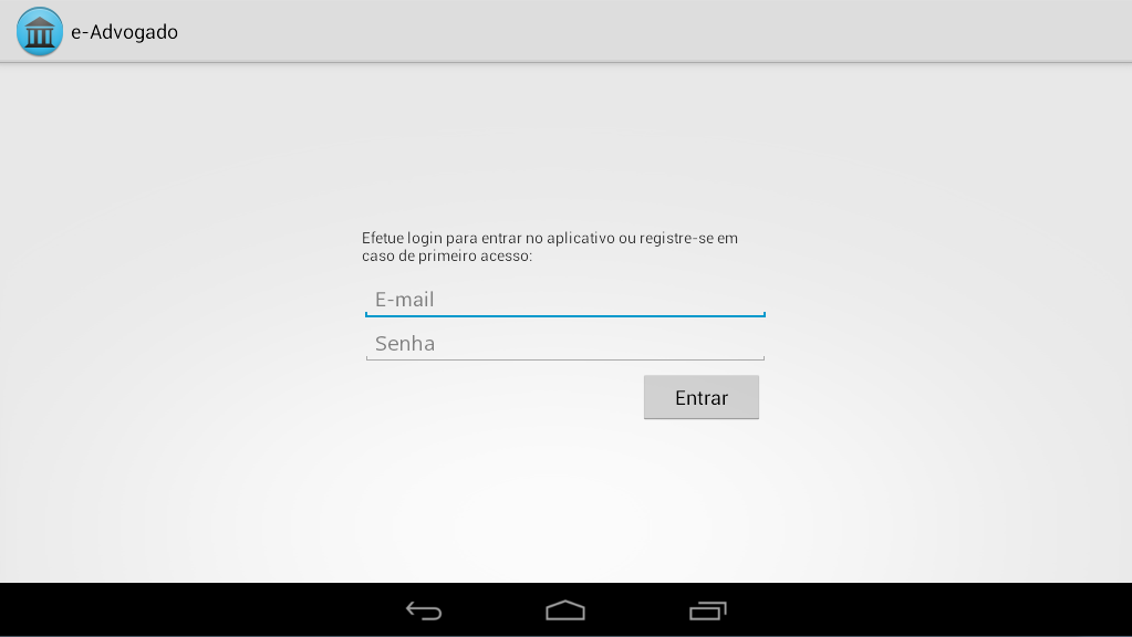 e-Advogado - screenshot