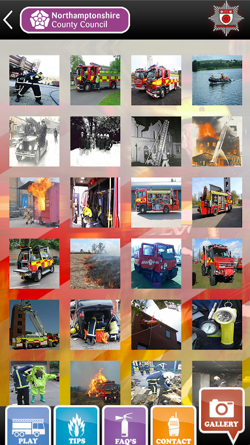 Northampton Fire Service- screenshot