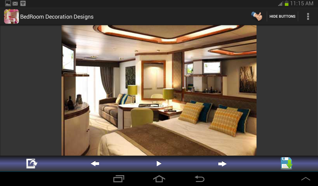 Bedroom decoration designs android apps on google play for Home decorating app