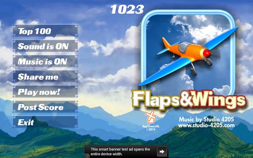 Flaps Wings