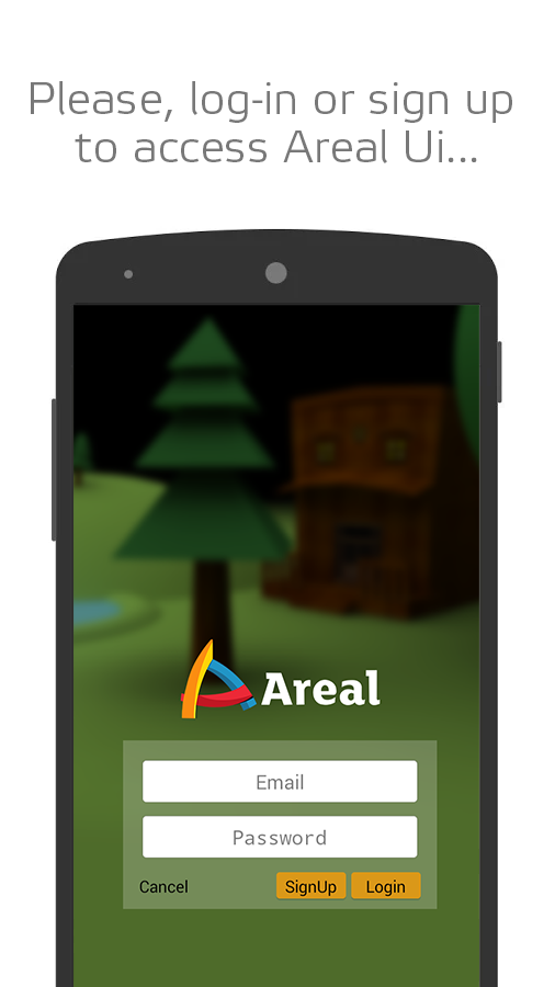 AREAL : Augmented Reality App - screenshot