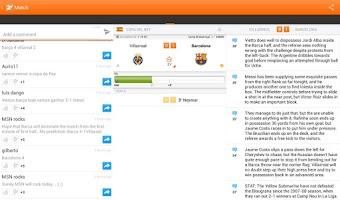 Screenshot of LiveSoccer - soccer scores
