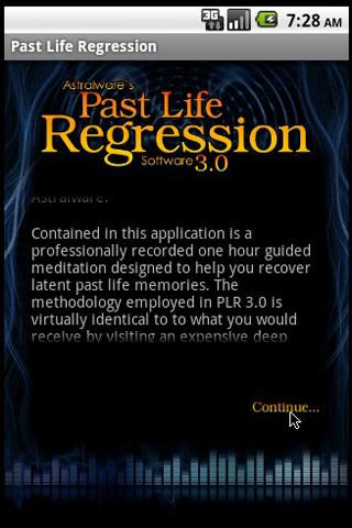 Past Life Hypnosis Software - screenshot
