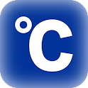 Celsius latitude longitude icon