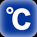 入力緯度経度地点摂氏度 icon