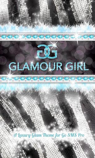 ★Glamorous★ Teal Zebra Theme