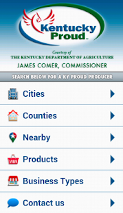Kentucky Proud Locater - screenshot thumbnail