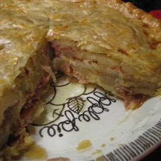 Ham and Onion Pie
