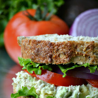 Heart-Healthy Tuna Avocado Salad Sandwich Recipe