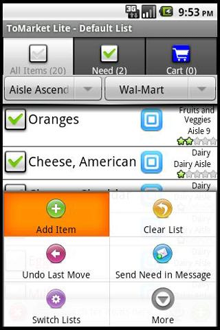 ToMarket Grocery Shopping Pro- screenshot