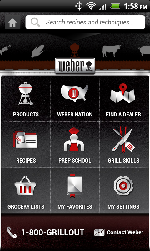 Weber® Grills - screenshot