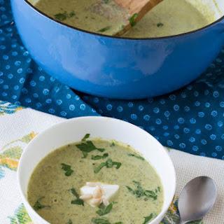 Creamy Creamless Broccoli Soup