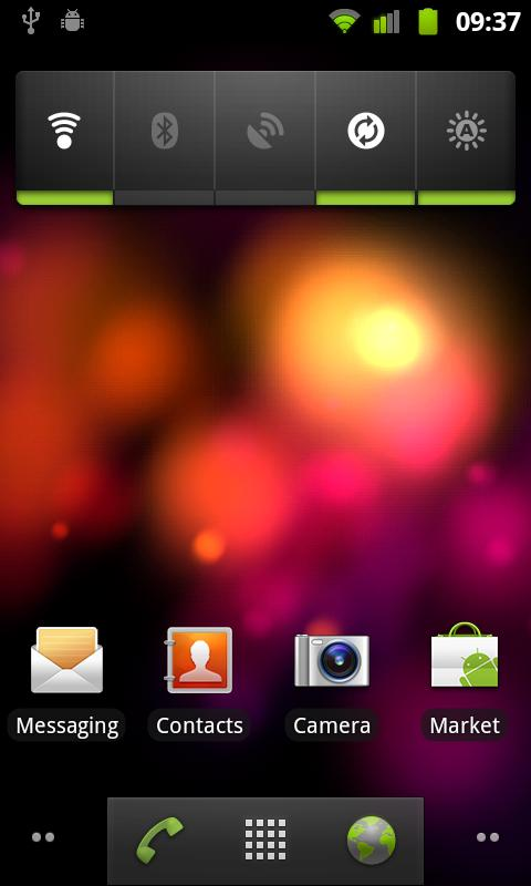 Crazy Colors Live Wallpaper - screenshot