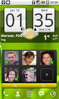 Screenshot of Arti's Fancy Contact Widget