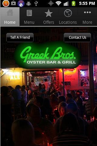 Greek Bros. Oyster Bar Grill