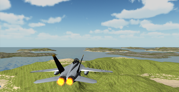 F18 Airplane Simulator 3D- screenshot thumbnail