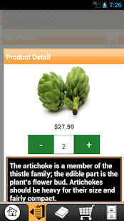 Get Fresh Produce Checkout - screenshot thumbnail
