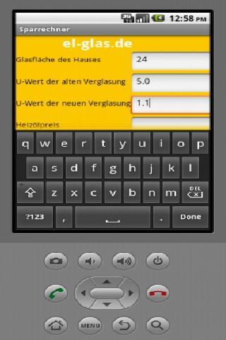 【免費工具App】Energiesparrechner für Glas-APP點子