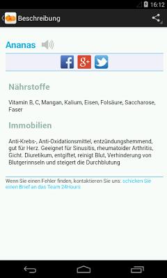 Diät für Immunität (Free) - screenshot