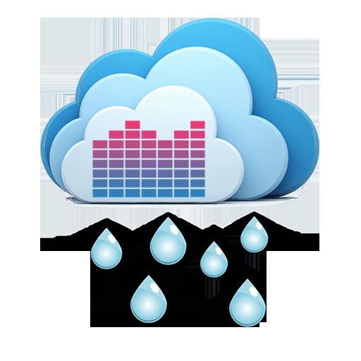 雨声:纯自然声 - 放松 催眠(无音乐) 音樂 App LOGO-APP試玩
