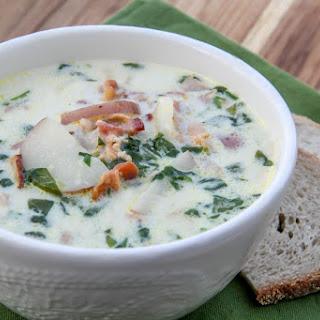 Creamy Chicken and Potato Soup.
