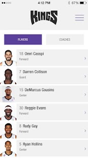 Sacramento Kings App - screenshot thumbnail