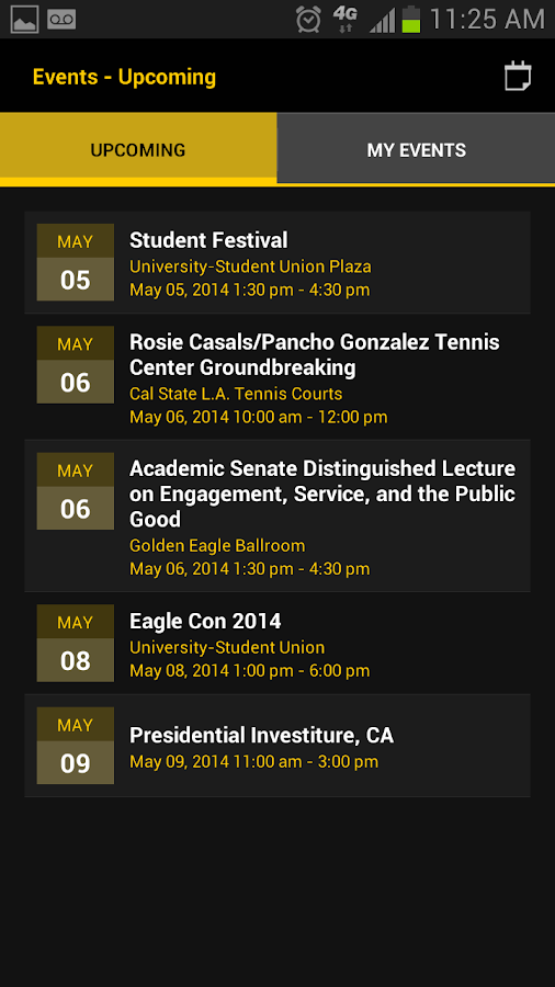 Cal State LA - screenshot