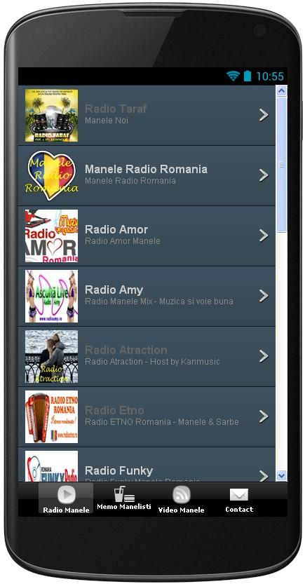 Radio Manele - screenshot
