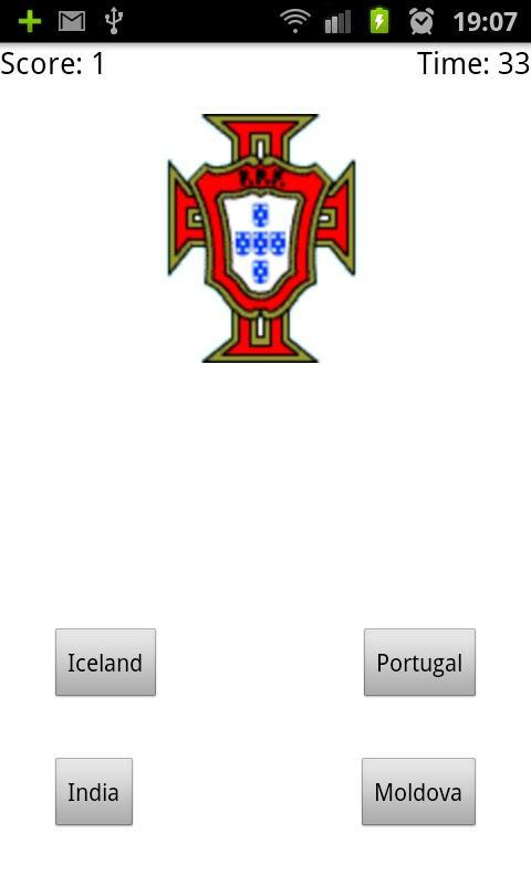 Fifa National Teams Logos Quiz - screenshot
