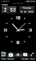 Screenshot of Zendo Clock Live Wallpaper