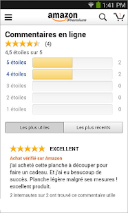 Amazon FR - screenshot thumbnail
