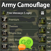 GO SMS Pro Army Camouflage
