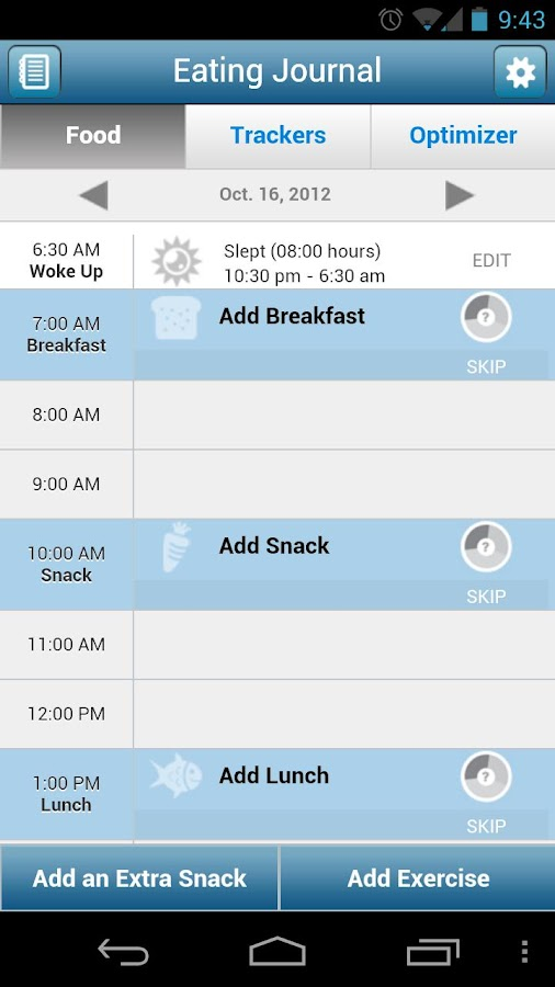 Food Lovers Fat Loss - screenshot