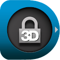 Animated  3D Locker Lockscreen logo