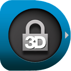 Animated  3D Locker Lockscreen icon