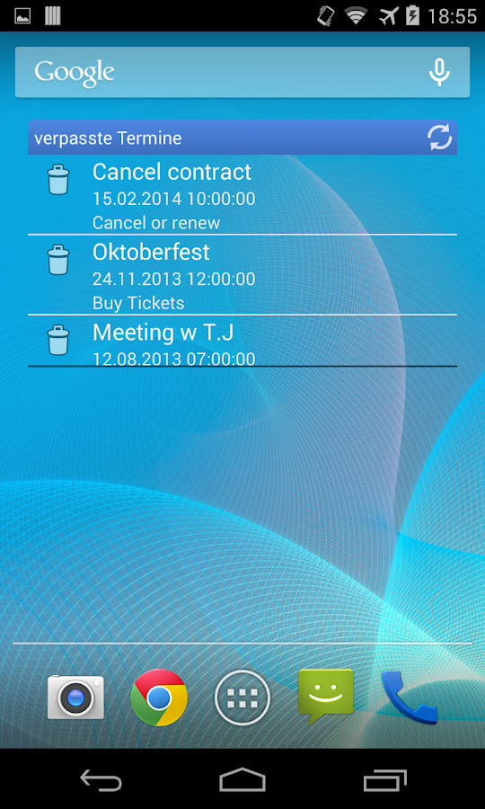 Calendar Cleaner- screenshot